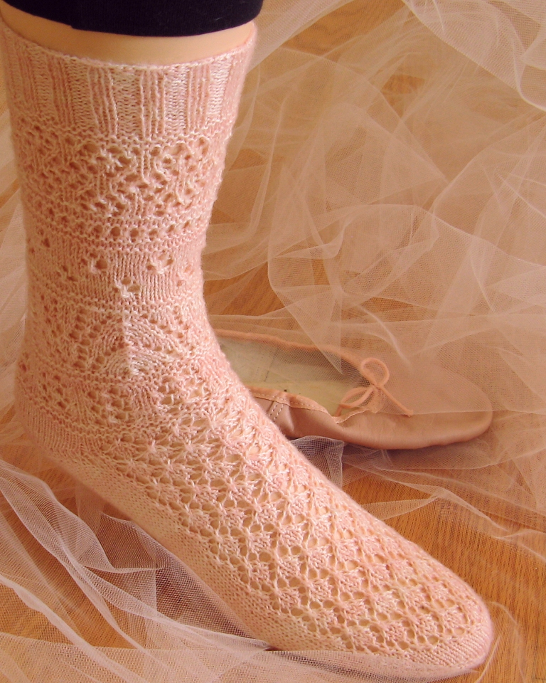 rite of spring lace sock