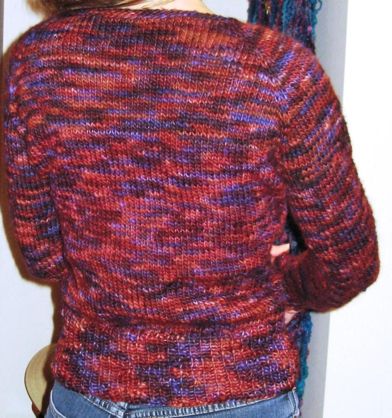 Linda's sweater