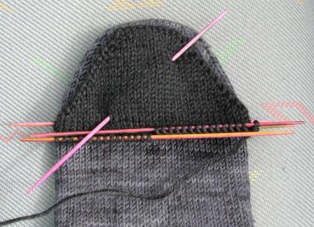 sock toe