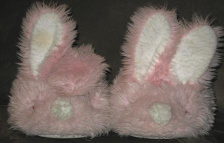 hip and hop, the elderly bunny slippers