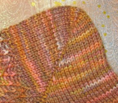 REAL SOCK COMPLETED HEEL