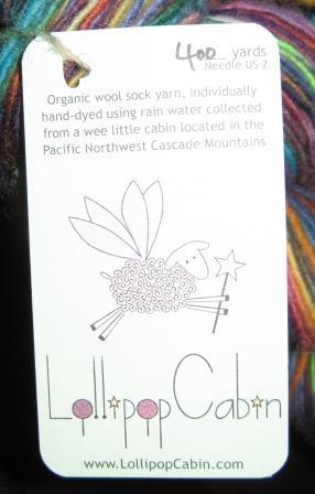 lollipop yarn tag