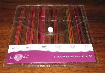 wood needle set knitpicks