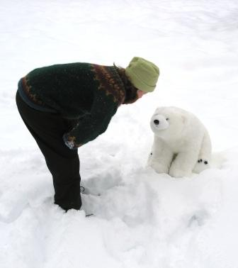me and polar bear