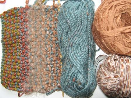 seed st trim w yarn