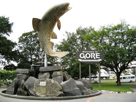 trout statue