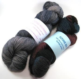Fly Designs sock yarn