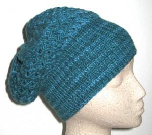"""'Shroom"""" hat in Malabrigo"""